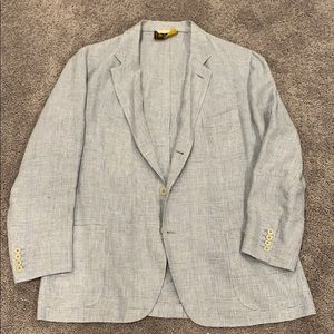 Loro Piana Linen Sport Coat Blazer Made in Italy